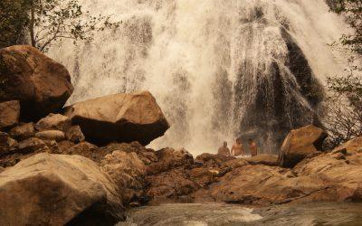 Bath under the Falls